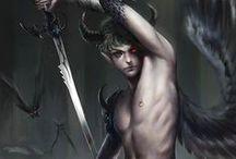 ☼ Ange de la mort ☼ / Les anges de la mort annonçant le déces d'un humain  ☼ www.angesgardiens.net ☼ #AngesGardiens #Ange_noir #Anges_noirs