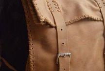 Taller de cuero / #artesanías #hechoamano #cuero #bolsos