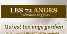 ☼ Les 72 anges gardiens ☼ / Découvrez qui est votre ange gardien et apprenez comment faire appel à lui en toute sécurité. Après avoir trouvé le nom de l'ange qui vous concerne, vous pourrez savoir quelle est sa véritable puissance.