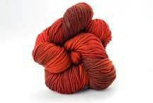 Fall Foliage / The colors and moods of Fall Foliage, in TRANQUILITY and ZARA HAND-DYED / by TSCArtyarns