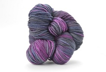 Twilight / The colors and moods of Twilight, in TRANQUILITY and ZARA HAND-DYED / by TSCArtyarns