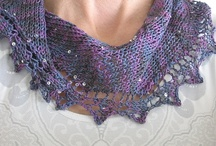 MD Crescent Shawls and Scarves / These are the items created during the knitalong here:  http://www.ravelry.com/patterns/library/sideways-multidirectional-crescent-knitalong / by TSCArtyarns