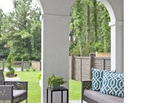 Outdoor Spaces and Porches by Riverside Designers