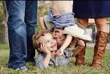 fun families / these are great poses to use with family sessions!