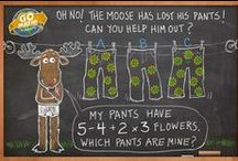 Math Brain Teasers and Story Problems / Can you solve these? Nothing like a brainteaser to get your mind churning!