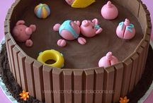 Tartas infantiles / Tartas de cumpleaños infantiles, tartas para niños, tartas de golosinas...