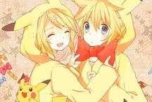 Kagamine Rin y Len