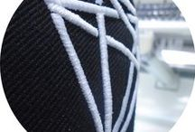 Embroidery / sPrint Textile Decorations represents quality care- placed into the embroidery process. www.sprint-romania.com