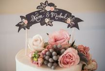Cake topper   cupcake topper / Toppers