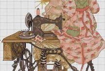Вышивка Швейная