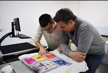 Training day with Kornit's application specialist / www.sprint-romania.com DirectToGarment – is one of the most revolutionary techniques in printing. Axel Stuhlreiter – Application Specialist – from KornitDigital Europe GmbH, set down with sPrintTextileDecorations' DTP team to answer some questions.