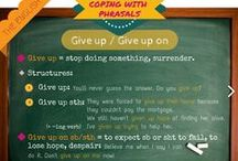 COPING WITH PHRASALS / Phrasal verbs are one of the things that make English the crazy language it is and they are often one of the biggest challenges for students. But, like it or not, they are an important part of the language and we can't turn a blind eye on them.  Find us also in Facebook: www.facebook.com/theenglishhall