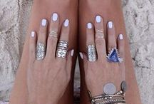 Jewellery inspo / Basically all boho inspired jewellery. Wish I lived on a beach so I could rock this style. #boho