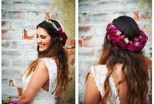 Whimsical Flower Crowns / Fresh or preserved flower crowns with romantic blooms and foliage. Perfect for any special occasion!