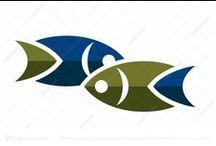 Fish Logos for Sale / #Fish #Logos