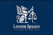 Justice and Law Logos for Sale / #Justice and #Law #Logos