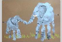 Kids Handprint / Footprint Art / by Julie Martin