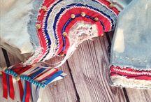 My handmade / Women's handmade clothing, embroidery, cutting, sewing, cross stitching, knitting and crocheting