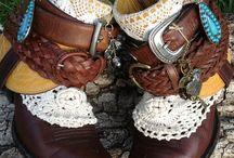 Boho and cowboy shoes