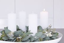 Winter / Winter, decorating, creating cozy places at home, interior decor, winter scenes, table settings, center pieces