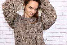 """Women's dark beige (coffee milk) #sweaters