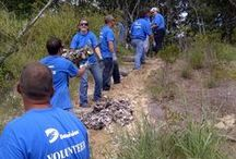 Blue Shirt Alert! / Dominion invests in communities through programs, volunteer activities and charitable giving. Our employees are active community volunteers and are known for their community leadership. Through our charitable arm – The Dominion Foundation – we contribute millions of dollars annually to a range of human service, environmental, educational and cultural organizations. / by Dominion Virginia Power
