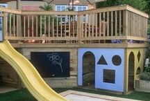 Kids Outdoor Spaces / Outdoor Spaces to inspire!