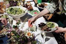Presentación comidas y bebidas