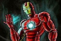 My Comic illustration Art / My comic and Fan Art.