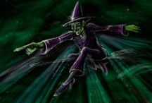 Wicked / Musical based on the Wicked Witch from Wizard of Oz.