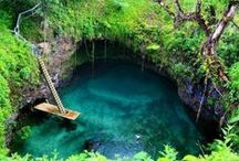 Pools-- All Shapes & Sizes / Some of the coolest swimmable places on the planet.