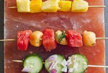 Himalayan Salt Block Recipes / Ideas for your salt block cooking