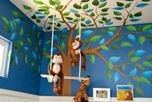Nursery / A nursery is a room which is filled with love - creating your little ones safe haven will never be a chore when there is so many beautiful ideas there for you to get creative with!