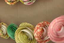 origami & garlands & other paper crafts.