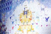 """Interno 14: """"GRADUS"""" di Arianna Bonamore / """"…Tutto può essere innesco per l'arte, tutto può essere distrutto dal linguaggio. L'opera di Arianna Bonamore ci suggerisce che ogni lavoro di proiezione contiene un'essenza amorosa, un reciproco dedursi, che se mancasse vanificherebbe l'opera dal suo interno. Sta a noi meritare la visione, farla accadere, renderla ispirazione, viatico, e remunerarla con l'opera."""" (Paolo Aita)"""