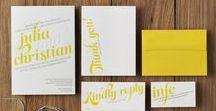 Letterpress Wedding Invitations / Wedding Invitations by Letterpress Made
