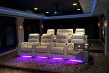Home Theater Installation / Custom designed and professionally installed home theaters.