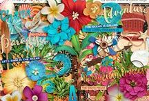 #believeinmagic: POLYNESIAN PRINCESS / Disney Moana inspired digital scrapbooking & clip art http://www.sweetshoppedesigns.com/sweetshoppe/product.php?productid=35328 #flergs #studioflergs #projectlife project life