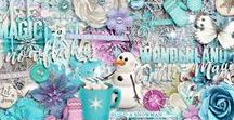 As Cold As Ice COLLECTION by Studio Flergs / Digital scrapbooking collection & clip art by Studio Flergs #flergs #studioflergs