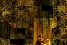 MES PROD: NORMA / En ces temps d'incertitude culturelle il est bon de porter l'Opéra sur les scènes qui n'ont pas de tradition ou de vocation pour le théâtre lyrique. Les productions RAMFIS s'attachent à cette mission. Des villes comme Fréjus, Douai, Aix-les bains, Biarritz, Niort, Saragosse, Sète, Pise... ont accueilli ces spectacles qui respectent ce que l'opéra doit être avec choeur, orchestre et une production qui doit immanquablement s'adapter à toute les tailles de scène. De plus la distribution doit être irréprochable et tenir ce qui ressemble à des performances sportives : représentations rapprochée, voyage entre les différentes viles ... Pour cette Norma , RAMFIS s'est assuré la participation d'une jeune et grande cantatrice française qui, sans faille aucune a assuré ces représentations. Lily Lehmann disait qu'elle préférait chanter les trois Brunehilde de la Tétralogie plutôt que de chanter Norma. France Dariz a tenu vaillamment le pari. Et je dois dire aussi que pour un metteur en scène, sortir du confort des grandes scènes sur-équipées est une aventure qui oblige à une parfaite rigueur  et qui est excitante par les décisions à prendre dans chaque théâtre pour que la production soit la même partout mais avec des ajustements parfois énormes.