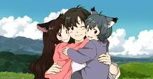 Wolf Children / A mother questions whether to bring her human-wolf hybrid children to a vet or a doctor