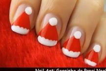 Unhas Decoradas Natal / Ideias de unhas decoradas para o natal e adesivos de unhas de Natal. / by Unhas Decoradas