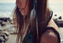 I LoVe BoHo!! / #Fashion#hair#jewellery#design#house