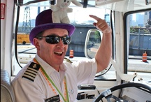 Our Wacky Captains / Ride the Ducks Captains are some of the wackiest tour guides around Seattle!