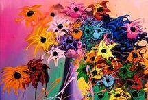 Art Flowers / by Belinda Gee