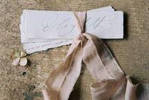 STATIONERY / Wedding Stationery