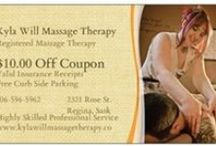 Kyla Will Registered Massage Therapy Regina Sask / www.kylawillmassagetherapy.co - Phone or Text to book:  306-596-5962