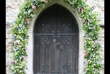 Church Flowers  / beautifully decorated churches