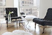 New York Home Inspiration / Sleek and modern like downtown NYC, this chic collection suits design buffs and anyone who favors a minimalist aesthetic. Clean lines, neutral colors, and contemporary accessories set a sophisticated tone for entertaining or lounging.