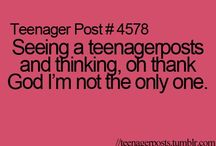 тєєи ρσѕтѕ / Funny, relatable teen posts. Or uum is it just me. Haha ;)